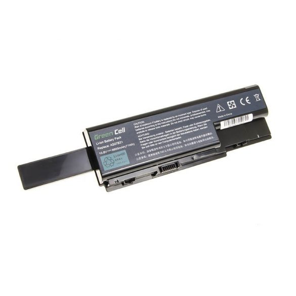 Green Cell akku Acer Aspire 5520  AS07B31 AS07B32 / 11,1V 6600mAh