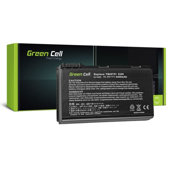 Green Cell akku Acer TravelMate 5220  5520 5720 7520 7720 / 11,1V 4400mAh