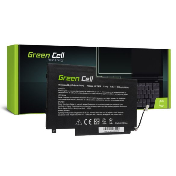 Green Cell akku Acer Aspire Switch 10 E  SW3 SW3-013 SW3-016 / 3,75V 8050mAh