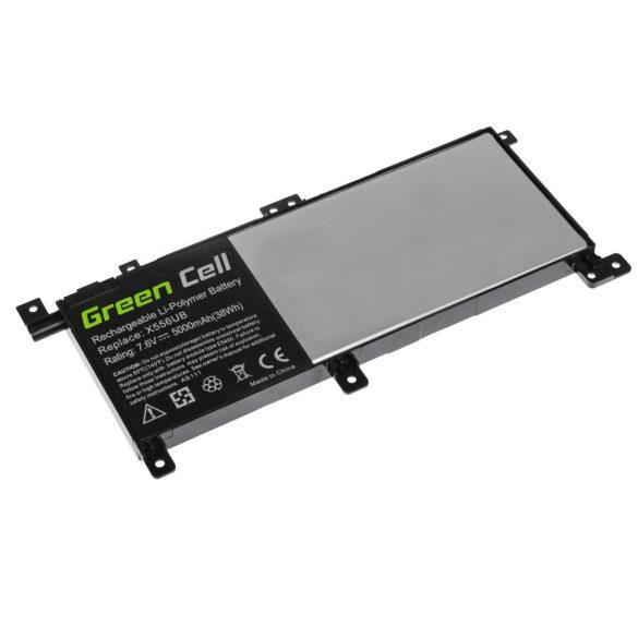 Green Cell akku Asus X556U / 7,6V 5000mAh