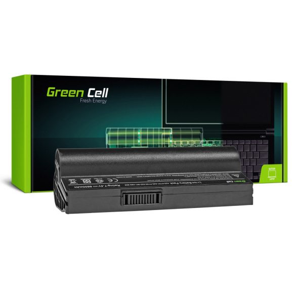 Green Cell akku Asus Eee PC 700 701 900 2G 4G 8G 12G 20G / 7,4V 6600mAh