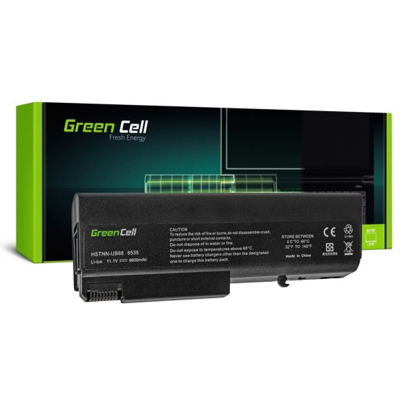 Green Cell akku HP EliteBook 6930 ProBook 6400 6530 6730 6930 / 11,1V 6600mAh