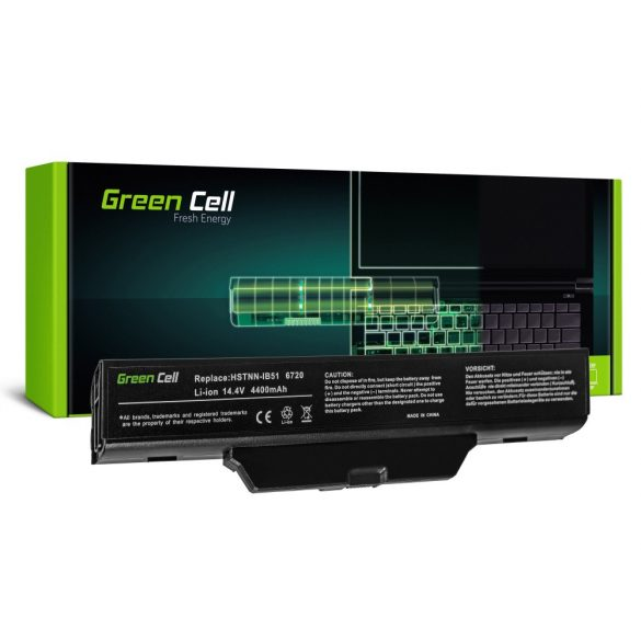 Green Cell akku  for HP 550 610 HP Compaq 6720s 6820s / 14,4V 4400mAh