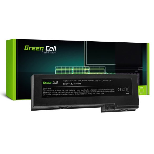 Green Cell akku HP EliteBook 2730p 2740p 2740w 2760p / 11,1V 3600mAh