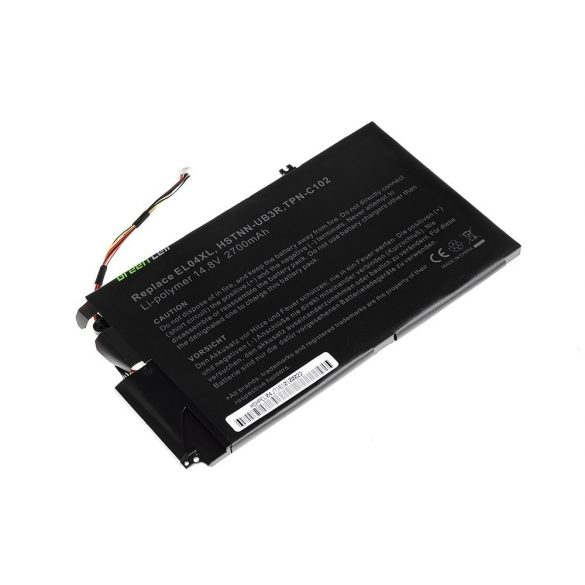 Green Cell akku HP Envy 4-1000 4-1100 4-1120EW 4-1120SW 4-1130EW 14.8V / 14,4V 3400mAh