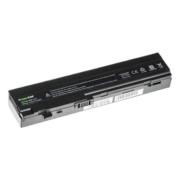 Green Cell akku HP Mini 5100 5101 5102 5103 / 14,4V 3600mAh