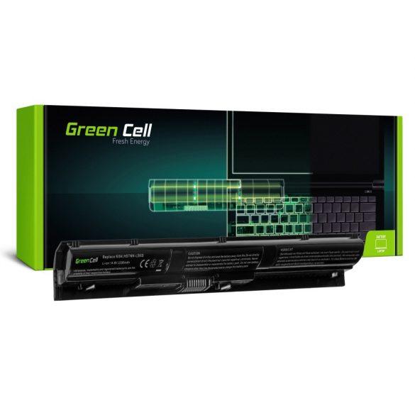 Green Cell akku HP Pavilion 14-AB 15- AB 15-AK 17-G / 14,4V 2200mAh