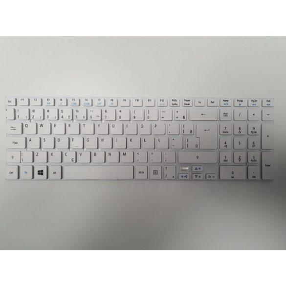 AC06 - klaviatúra magyar HUN, fehér (E5-511, E5-521, E5-571, E5-572, ES1-512, ES1-711)
