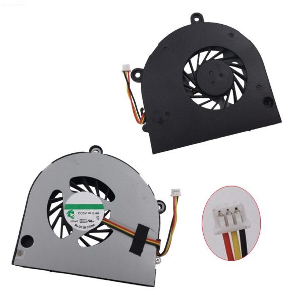 AC07 - CPU hűtő ventilátor Aspire 5251, 5551, 5551G, 5741, 5741G, 5741Z,  Packard B. PEW96, PEW91