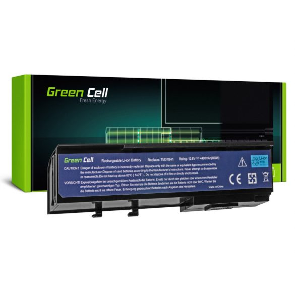 Green Cell akku Acer TravelMate 2420  3300 4520 4720 / 11,1V 4400mAh