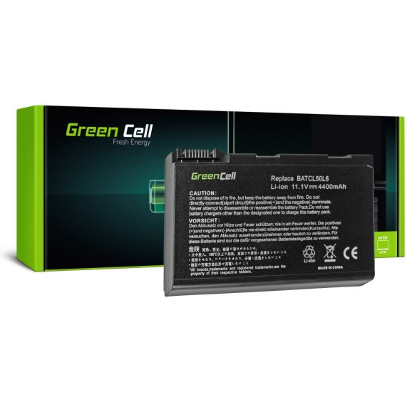 Green Cell akku Acer Aspire 3100 3690 5110 5630 / 11,1V 4400mAh