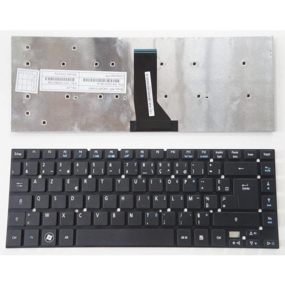 AC15 - klaviatúra olasz IT, fekete (Aspire E1-410G, E1-430, ES1-332, ES1-511, ES1-520)