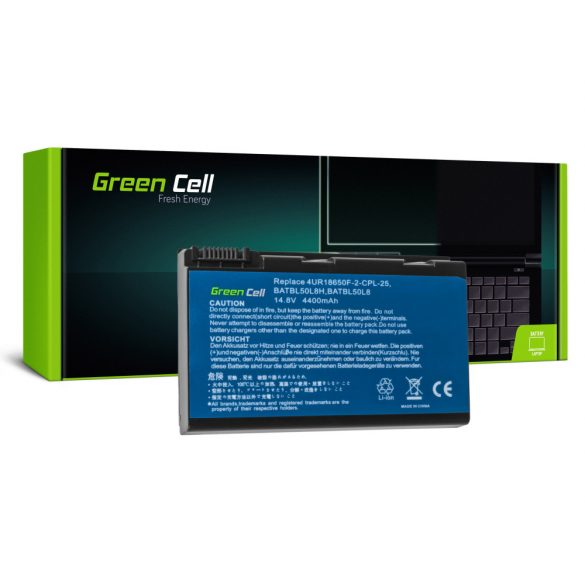 Green Cell battery for Acer Aspire 3100 3690 5110 5630 / 14,4V 4400mAh