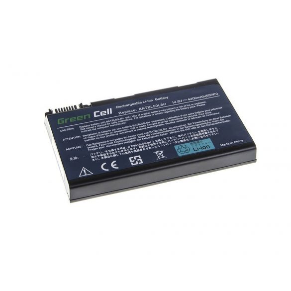 Green Cell akku Acer Aspire 3100 3690  5110 5630 / 14,4V 4400mAh