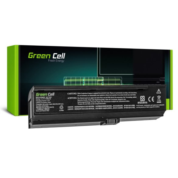Green Cell akku Acer Aspire 3200 3600  3680 5030 5500 / 11,1V 4400mAh