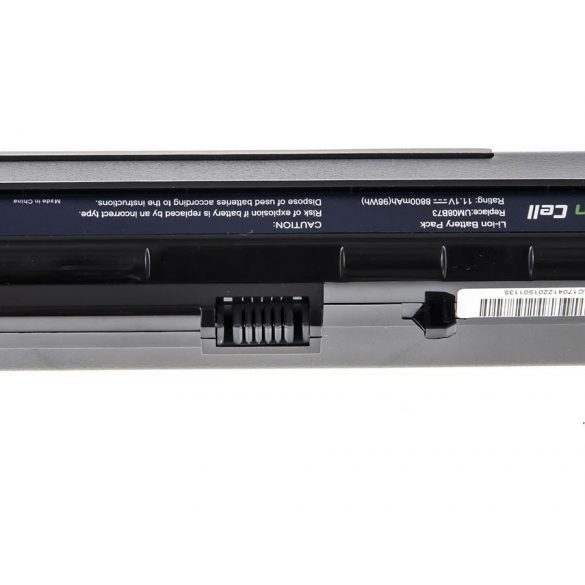 Green Cell akku Acer Aspire One A110  A150 D150 D250 ZG5 / 11,1V 8800mAh
