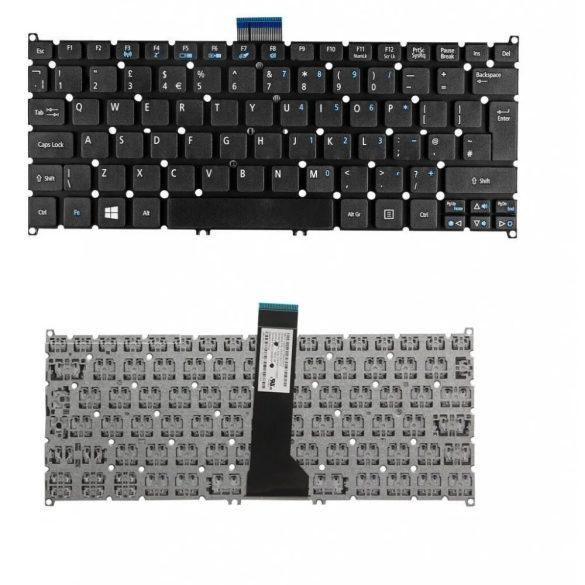 AC18 - klaviatúra angol UK, fekete (Aspire V5-122, V5-132, V3-371, E11, E3-112)