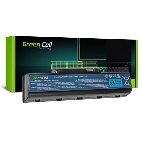 Green Cell akku Acer Aspire AS09A41  AS09A51 5532 5732Z 5734Z / 11,V 4400mAh