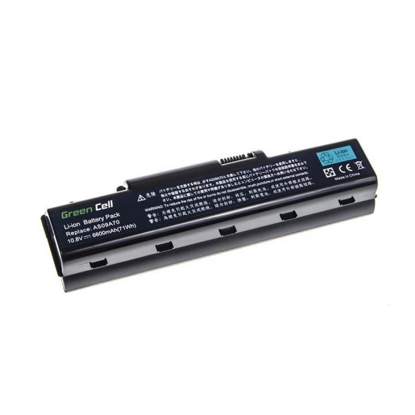 Green Cell battery for Acer Aspire 5532 5732Z 5734Z AS09A41 AS09A51 / 11,V 6600mAh