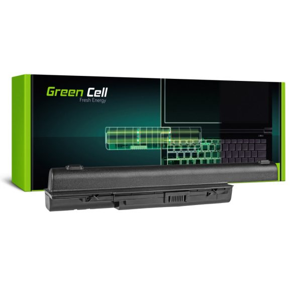 Green Cell akku Acer Aspire 5520  AS07B31 AS07B32 / 11,1V 8800mAh