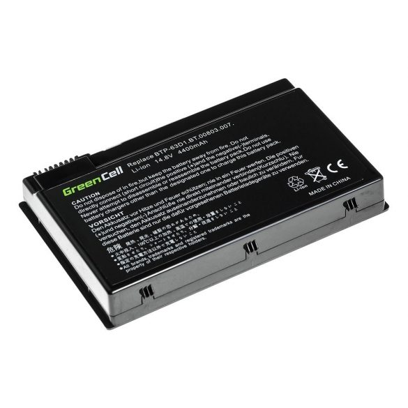 Green Cell akku Acer TravelMate 4400  C300 2410 Aspire 3020 3610 5020 / 11,1V  4400mAh
