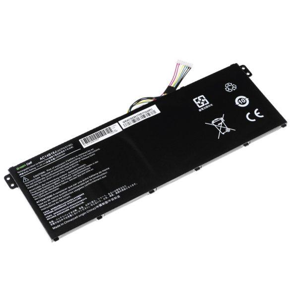 Utángyártott akku Acer Aspire E 11  ES1-111M ES1-131 E 15 ES1-512 / 11,4V  3200mAh