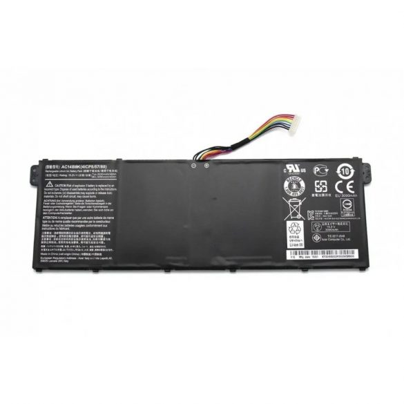 Acer Aspire 5 A515  A517 E15 ES1-512 ES1-533 akku / 15,2V 3200mAh