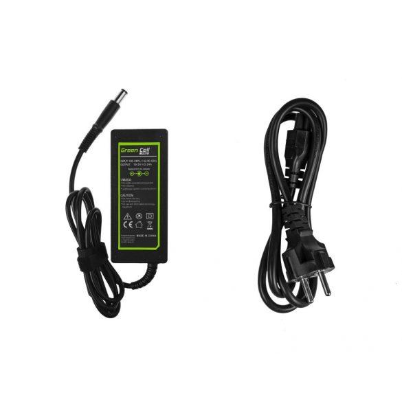 Green Cell laptop töltő Dell 65W / 19V 3.34A / 7.4-5.0mm