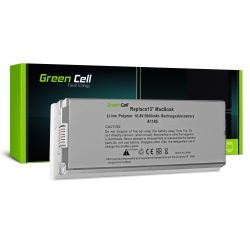 Green Cell akku Apple Macbook 13 A1181 2006-2009 (fehér) / 11,1V 5600mAh