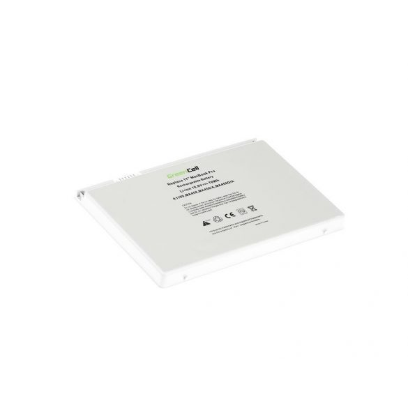 Green Cell akku Apple Macbook Pro 17 A1151 A1212 A1229 A1261 (2006, 2007, 2008) / 11,1V 6300mAh