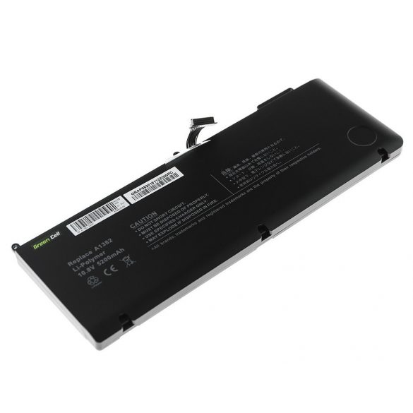 Green Cell akku Apple Macbook Pro 15 A1286 2011-2012 / 10,95V 5200mAh