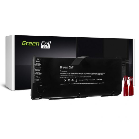 Green Cell PRO akku Apple Macbook Pro 17 A1297 2011 / 10,95V 8700mAh