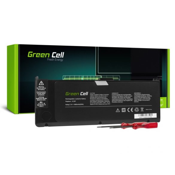 Green Cell akku Apple MacBook Pro 17 A1297 A1309 (Early 2009, Mid 2010)