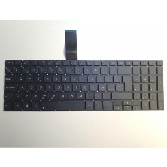 AS02 - klaviatúra spanyol SP, fekete (A551LA, K551, K551L, R551, S551, S551L, V551)
