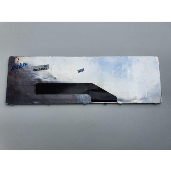 AS03 - klaviatúra angol UK, fekete (K50 K51 P50 F52 F90 X5D K60 K62 K70 X5J X51 X70)