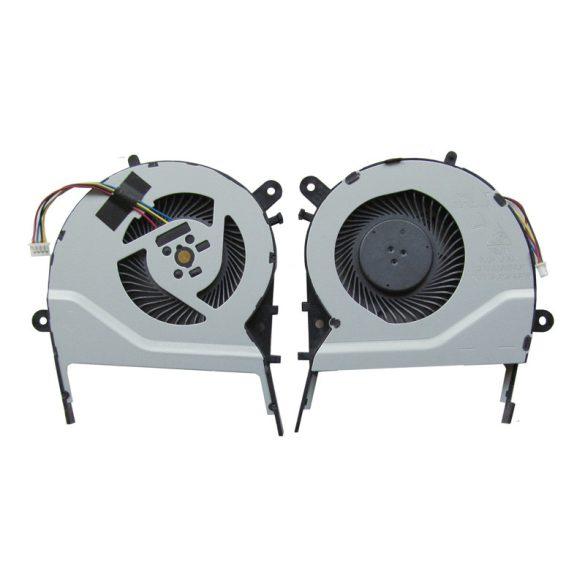 AS06 - CPU hűtő ventilátor X455LD, X455CC, A455, A455L, K455, X555, A555L, K555