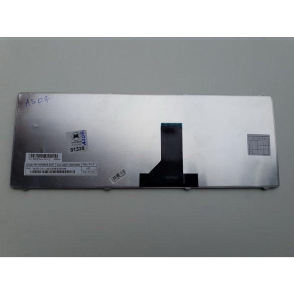 AS07 - klaviatúra angol UK, fekete (A42 A42J A43 K42 K42F K42J K43 N43SL N43SN N82 N82J)