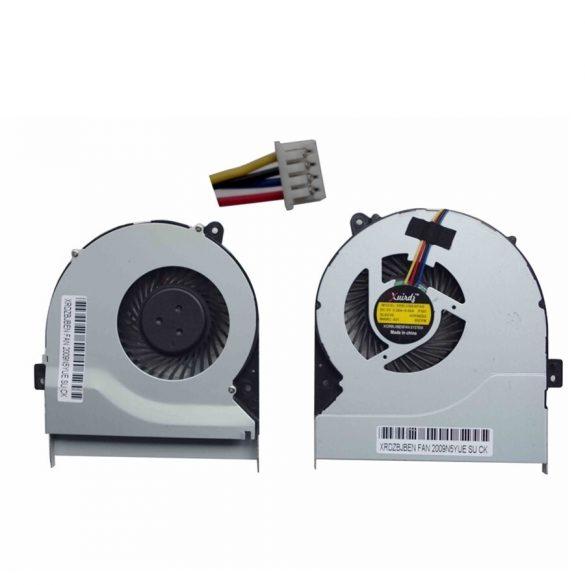 AS08 - CPU hűtő ventilátor K56, K56CA, K56CB, K56CM