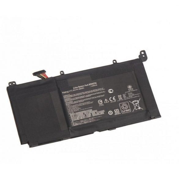 Utángyártott akku Asus R553 R553L R553LN B31N1336 / 11,4V, 48Wh