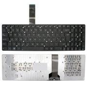 AS15 - klaviatúra angol UK, fekete (A55, K55, K75, R500, U57A, X751)