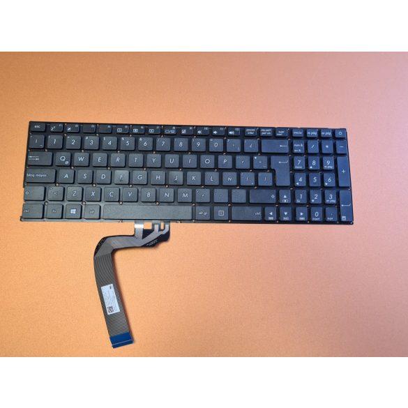 AS18 - klaviatúra angol SP, fekete (X542 K542 A542 X542U FL8000 A580U)