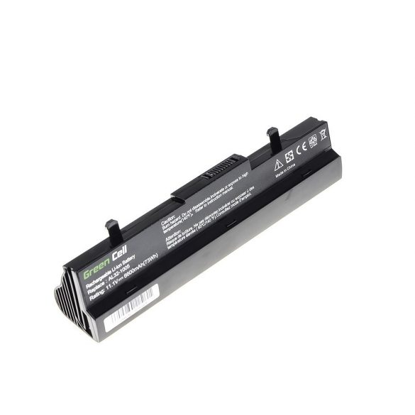 Green Cell akku Asus Eee-PC 1001 1001P 1005 1005P 1005H (black) / 11,1V 6600mAh