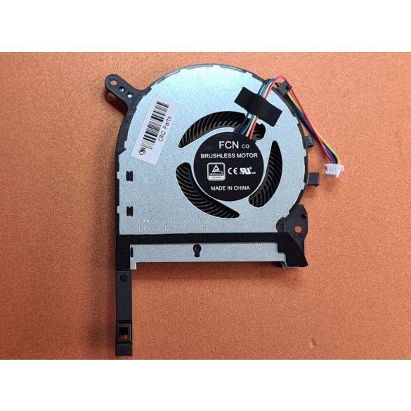 AS20A - CPU hűtő ventilátor ASUS FX505, FX505D, FX505DU, FX705, FX705G, FX705GM, FX86, FX86SM