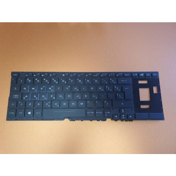 AS22 - klaviatúra angol UK, fekete, világító Asus ROG Zephyrus GX501, GX501VS, GX501VSK