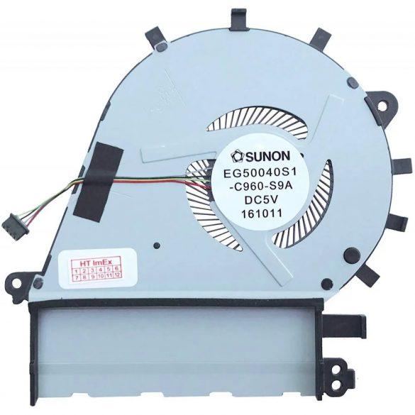 AS23 - CPU hűtő ventilátor ASUS ZenBook UX430, UX430U, UX430UA, UX430UQ, U4100, U4100U, U4100UQ