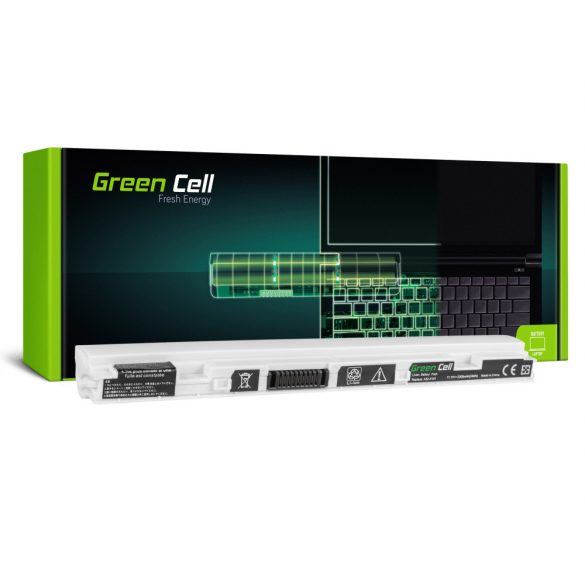 Green Cell akku Asus Eee-PC X101 X101H X101C X101X (white) / 11,1V 2200mAh
