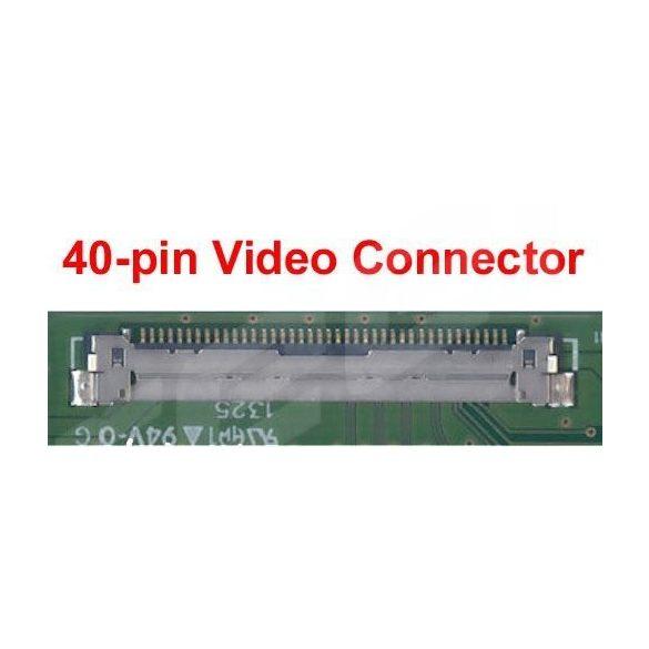 """B140XW01 AU Optronics LCD 14"""" NORMAL HD 40 pin fényes"""