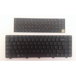 DE01 - klaviatúra 3M magyar HU, fekete (Inspiron N3010, N4010, M4010, N5030, M5030)