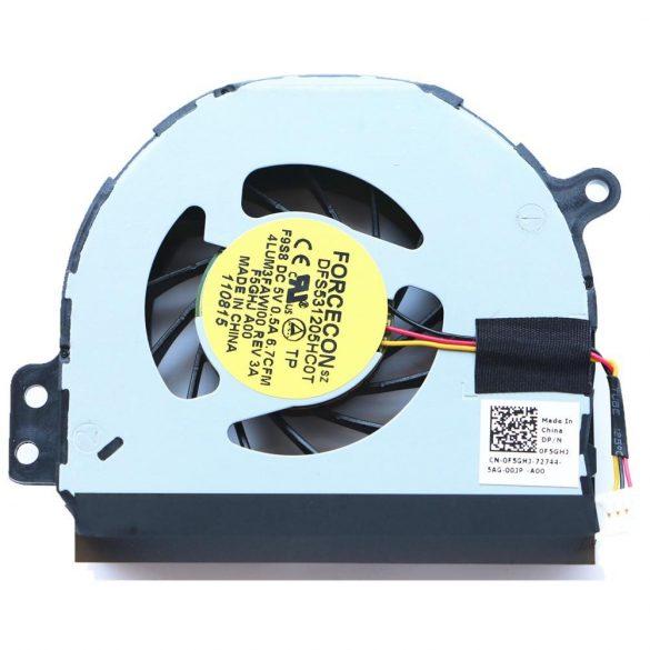 DE02 - CPU hűtő ventilátor Inspiron 1564 1464 N4010