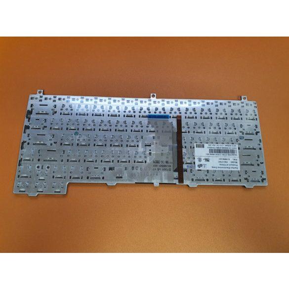 DE02 - klaviatúra cseh CZ, fekete (Latitude D420, D430)